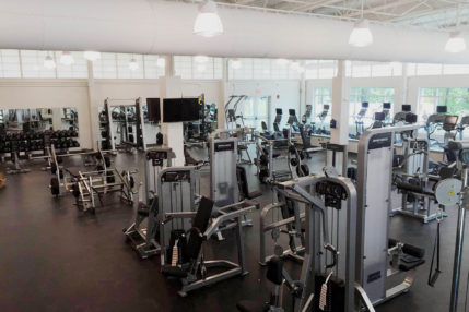 There are two fitness centers with modern exercise equipment.