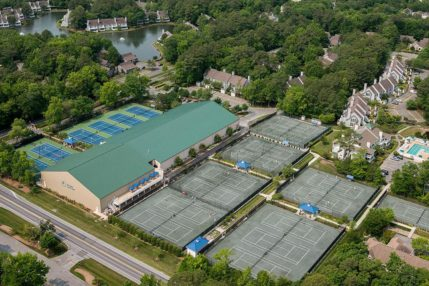 Sea Colony's tennis center includes 34 courts (6 indoor and 14 Har-Tru courts).  Tennis clinics and tournaments are held year-round.